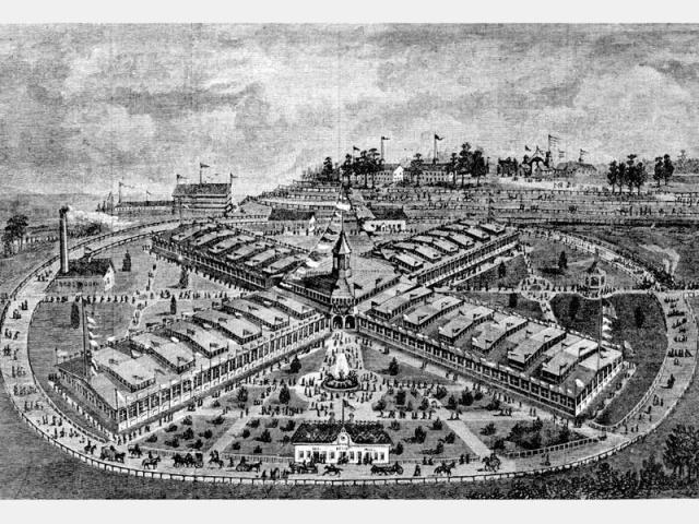 International Cotton Exposition, Atlanta GA, 1881. Atlanta History Center Archives.