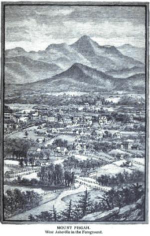 Mt. Pisgah from W AVL