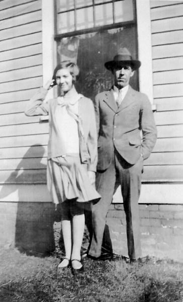 Mary Neal Rudisill and Pierce Rudisill, ca. 1930