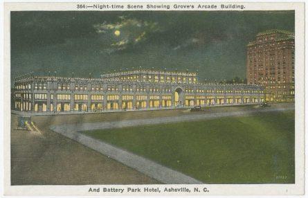 Grove Arcade and Battery Park