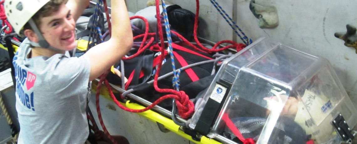 Rescue skills create responsibility