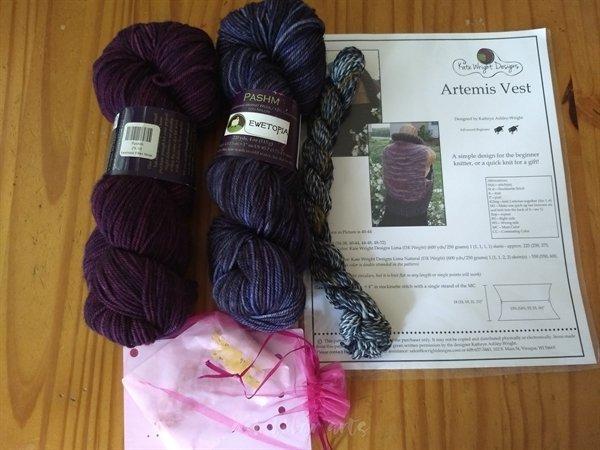 Driftless shop hop - Ewetopia purchase 2019 - yarn stash acquisition