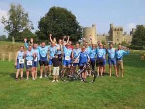 Bodium Castle Sprint Tri 2014