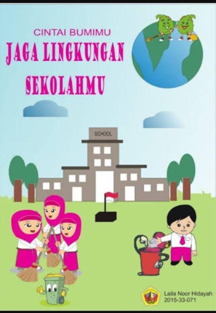 Contoh Poster Kebersihan Lingkungan : contoh, poster, kebersihan, lingkungan, Poster:, Gambar, Poster, Kebersihan, Lingkungan, Sekolah