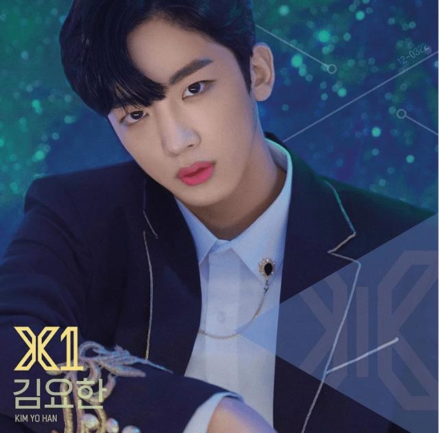 X1メンバーのキム・ヨハン
