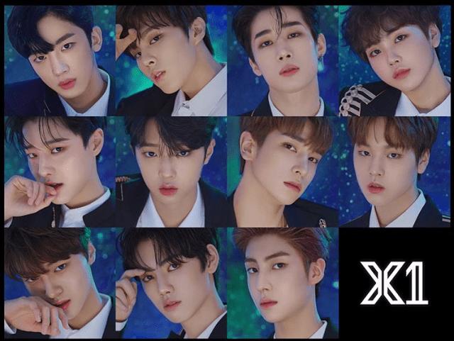 韓国アイドルグループX1のメンバー全員写真