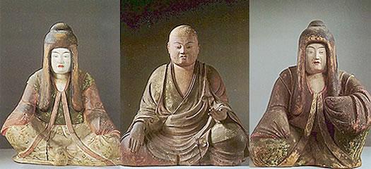 八幡三神像