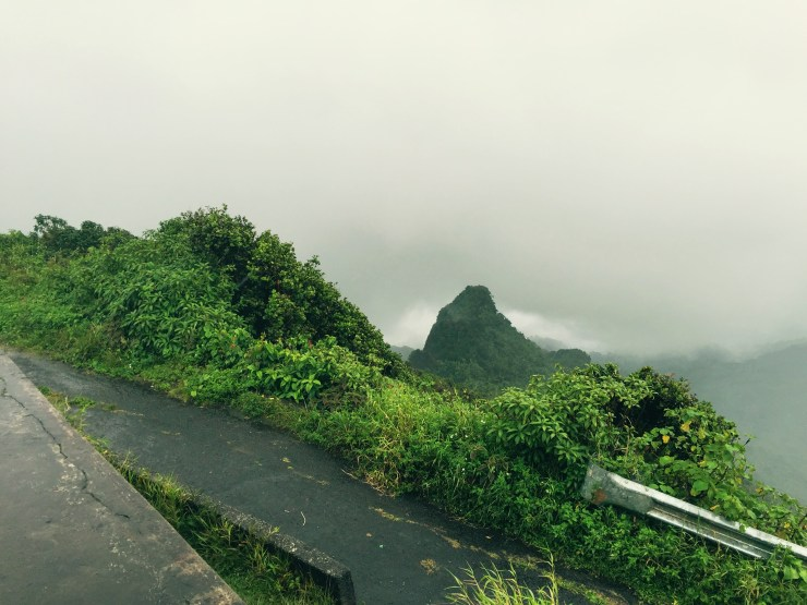 A view from the top of El Yunque National Park