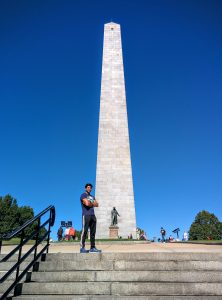 Bunker Hill monument - do run upstairs here