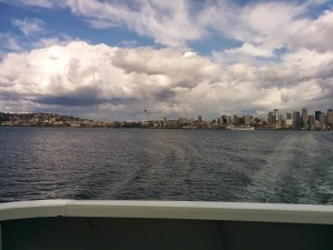 Seattle seen from the ferry