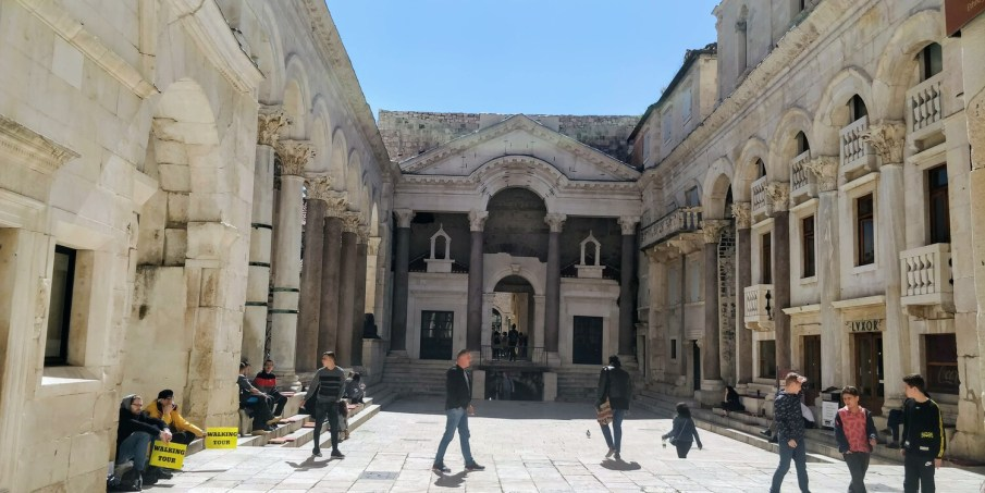 Inside the Diocletian Palace