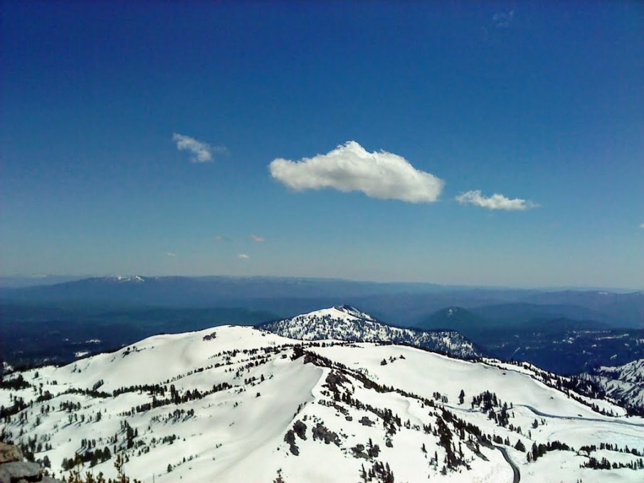 Taken along the Lassen Peak hike