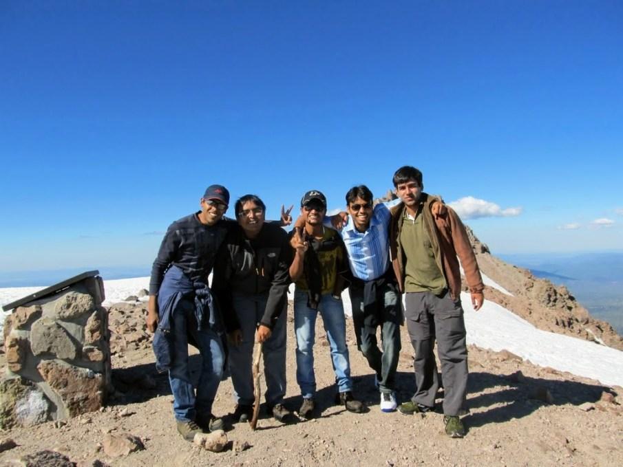 At Lassen Peak
