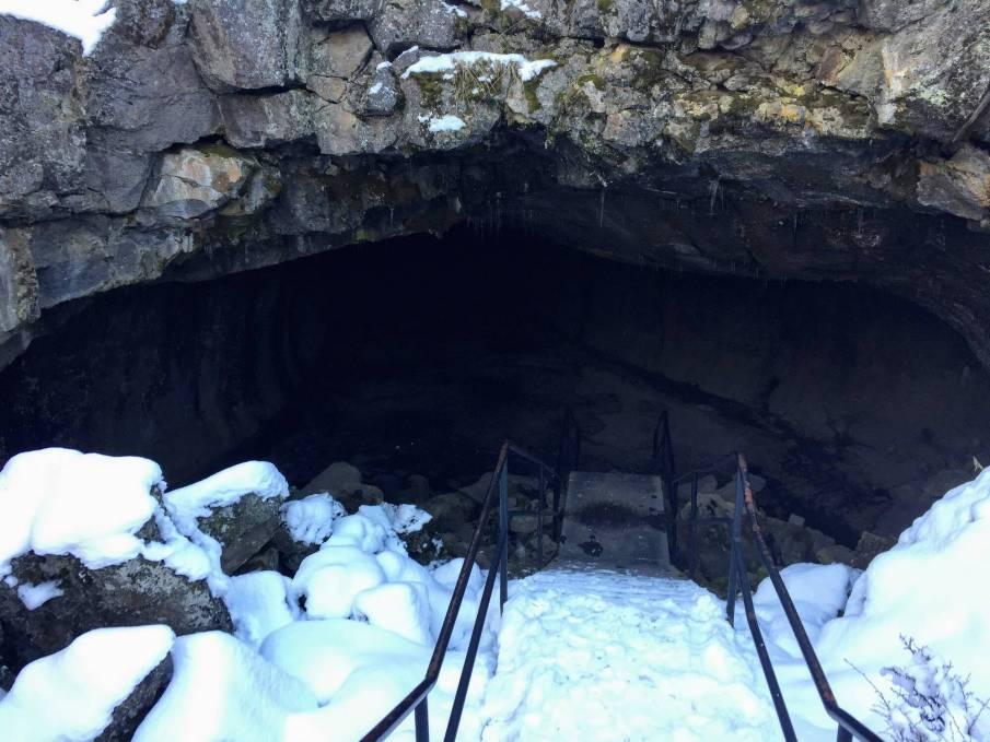 Lava Tubes Entrance