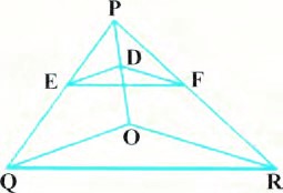 Class 10 triangles exercise 6.2 Question 5 figure