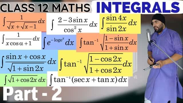 Integrals Lecture 1 Part 2