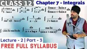 Integrals Lecture 2 Part 3