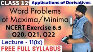Lecture 11 Applications of Derivatives Class 12 7