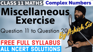 Complex Numbers Lecture 6