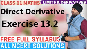 Limits and Derivatives Lecture 9