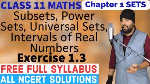 Sets Lecture 2