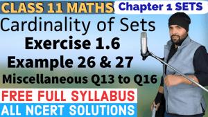 Sets Lecture 5