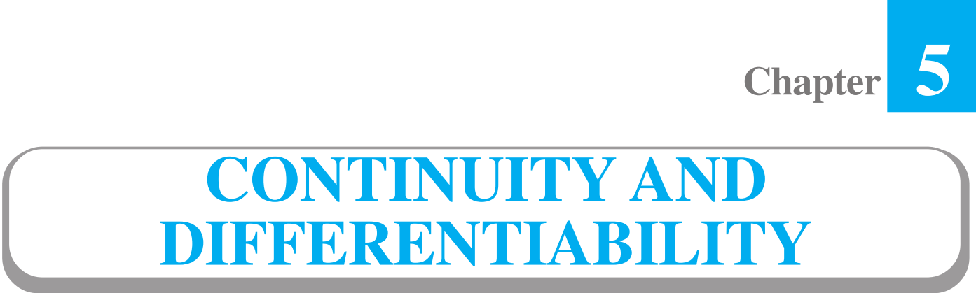 5 Continuity and Differentiability Class 12 maths