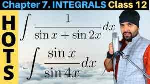 Integrals Lecture 5 Part 1 640 x 360