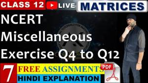 Matrices Lecture 7