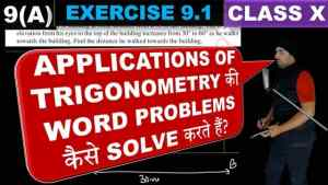 Some applications of trigonometry Lecture 1