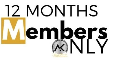 12 months membership only
