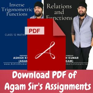 PDF of assignments