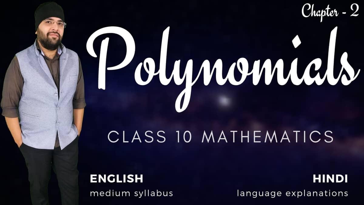 Polynomials Class 10 Maths