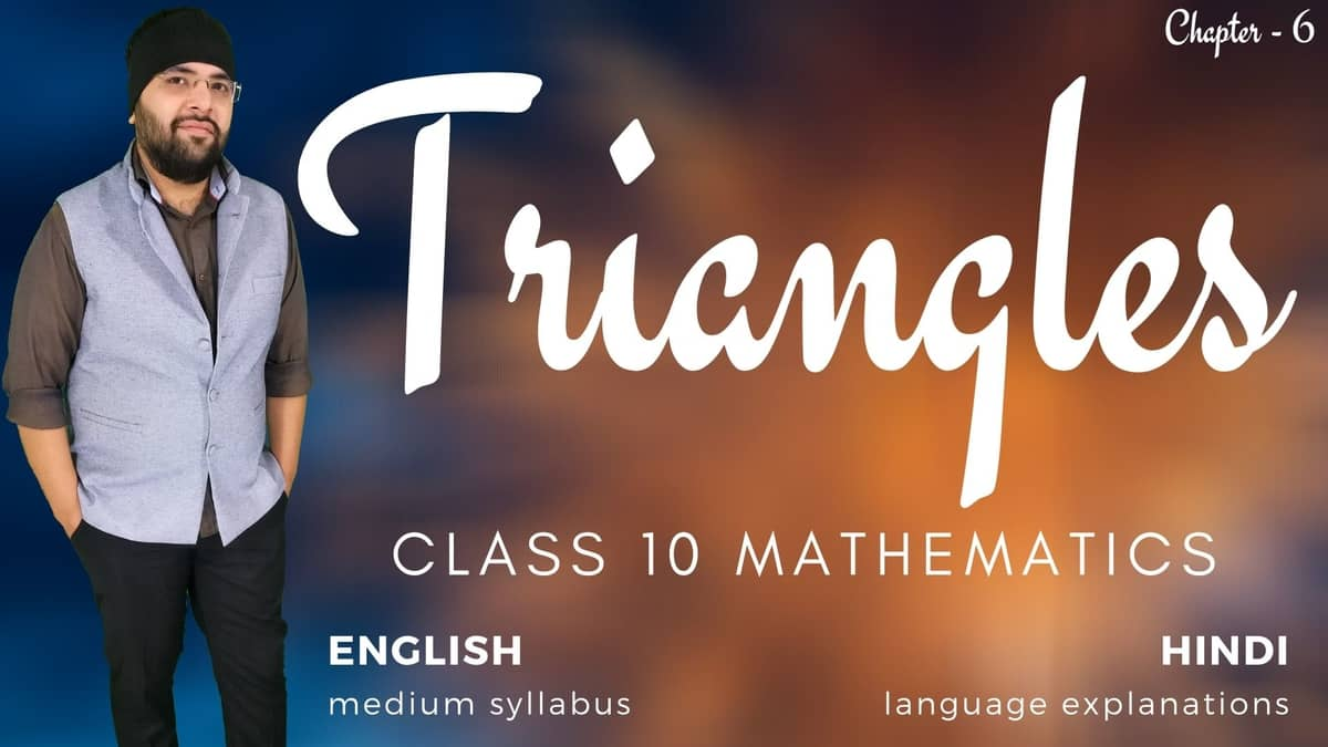 Triangles Class 10 Maths