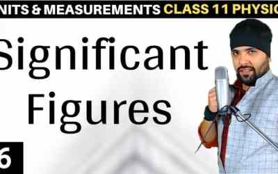 L6 – Significant Figures Units and Measurements