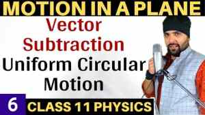 Class-11-Physics-Motion-in-a-Plane-Lecture-6