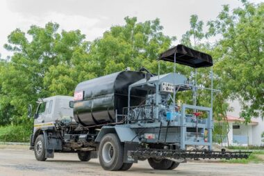 ASPHALT DRUM-MIX PLANT INSTALLED AT NEPAL-1