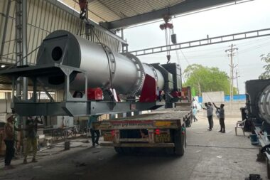 ASPHALT DRUM-MIX PLANT INSTALLED AT NEPAL