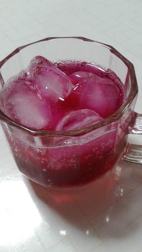 今年も赤しそジュースの季節がやってきました