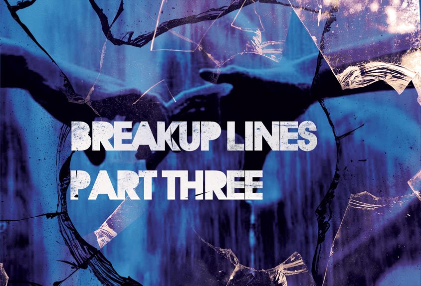 Broken Mirror With Image Of Hands - Breakup Lines - Ashiwel