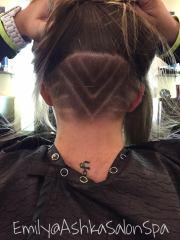 undercut hair coming