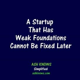 Weak Startups