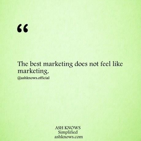 Best Marketing - ASH KNOWS