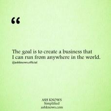 Online Business - ASH KNOWS