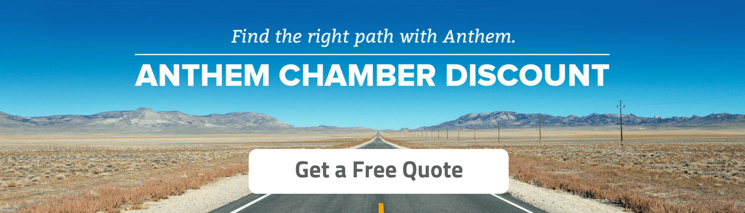 anthem chamber discount website banner ad