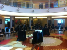 The beautiful setting for the Water Gathering at the Wabano Centre in Ottawa.