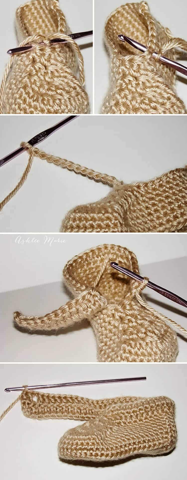 hight resolution of where to put the cuff and how to make it free crochet wrap around boot