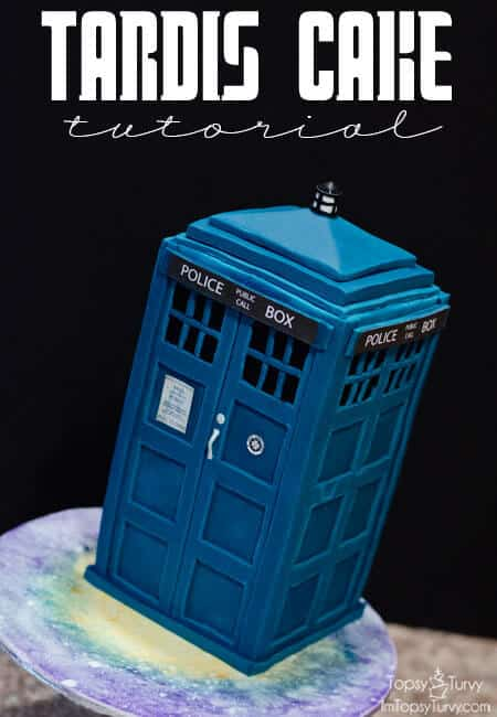 remodel my kitchen brass faucets tardis cake tutorial | ashlee marie - real fun with food