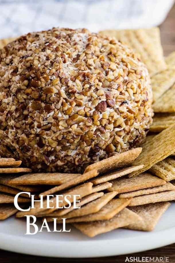 cheese ball recipe and video tutorial