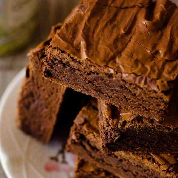 the perfect chocolate brownie